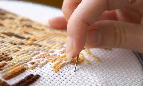 Виды наборов для вышивания крестиком