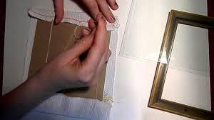 вариант оформления готовой вышивки