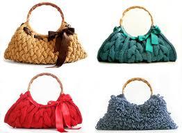 Порядок вязания и оформление сумки
