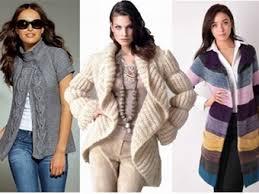 Модные вязаные вещи в новом сезоне