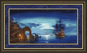 Багетные рамки «Морские мотивы»