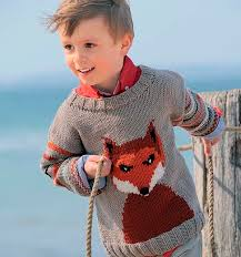 Цветовые решения в вязании для детей
