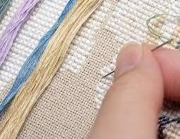 техники вышивки крестиком